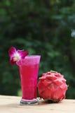 Różowy smoothie Obraz Stock