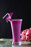 Różowy smooyhie Obrazy Royalty Free