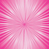 różowy sunburst Obrazy Royalty Free