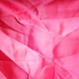 Różowy tkanina jedwab Zdjęcia Stock