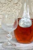 Różowy wino Zdjęcia Stock