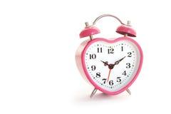 Różowy zegar Zdjęcia Stock