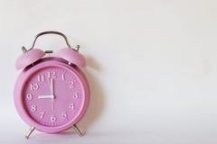 Różowy zegar Obraz Royalty Free