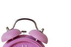 Różowy zegar Obrazy Stock
