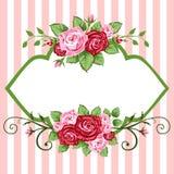 róża rocznik Zdjęcie Stock