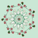 Róża wzór Zdjęcie Stock