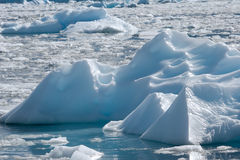 śródpolna góra lodowa Fotografia Royalty Free