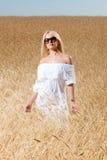 śródpolna kobieta zdjęcie royalty free