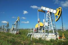 śródpolna produkcja ropy naftowej Russia Obrazy Stock