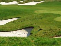 śródpolny golf Zdjęcie Stock