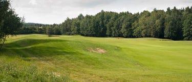śródpolny golfowy panoramiczny Obraz Stock