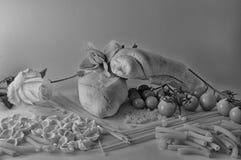 Śródziemnomorska kuchnia Fotografia Royalty Free