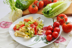 Śródziemnomorska kuchnia Zdjęcie Royalty Free