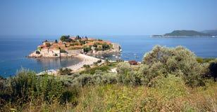 Śródziemnomorska wioska Zdjęcie Stock