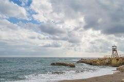 Śródziemnomorski brzegowy Crete, Grecja Zdjęcie Royalty Free