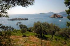 Śródziemnomorski krajobraz Fotografia Royalty Free