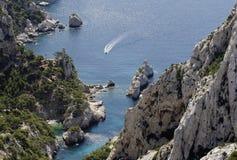 Śródziemnomorski krajobraz Obrazy Stock