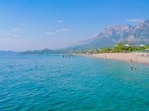 Śródziemnomorski krajobraz Zdjęcia Royalty Free
