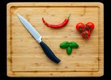 Śródziemnomorski kucharstwo Zdjęcie Stock