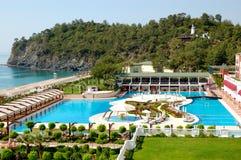 śródziemnomorski kurortu morza turkish Zdjęcie Royalty Free