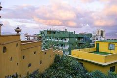 Śródziemnomorski miasteczko obrazy stock