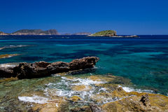 śródziemnomorski seaview Obrazy Stock