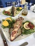 śródziemnomorski smak obraz stock