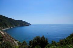 Śródziemnomorski widok Zdjęcia Stock