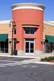 róg centrum sklepu pasek restauracji Obraz Stock
