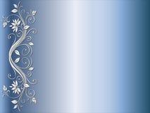 róg projektu kwiecisty ślub royalty ilustracja