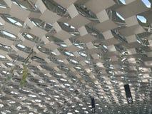 Rój konstrukcja artic w wewnętrznym widoku Shenzhen Baoan lotnisko międzynarodowe zdjęcie stock