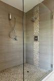 rówieśnika podwójna głów prysznic Fotografia Stock