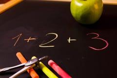 równanie szkoła Obrazy Royalty Free