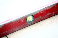 Równe czerwieni płytki na podłoga Zdjęcie Stock