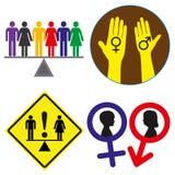 równe prawa Zdjęcie Royalty Free