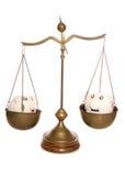 Równi savings dla par Obrazy Stock