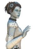 również jako zbioru dziewczyny Rosji lalka, snegourochka śnieg Obraz Royalty Free