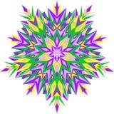 również zwrócić corel ilustracji wektora Mehndi projekt Etniczna binarna doodle tekstura Maswerku bezszwowy wzór ilustracji