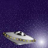 również zwrócić corel ilustracji wektora Statek kosmiczny Obrazy Royalty Free
