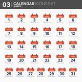 również zwrócić corel ilustracji wektora ustawiać kalendarzowe ikony Daktylowy i czasie maszerujący ilustracji