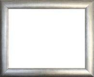 Równina obrazka srebna rama zdjęcie royalty free