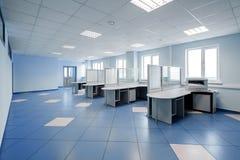 równiny wewnętrzna biurowa przestrzeń Obraz Stock
