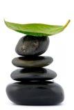 równoważenie kamienie obrazy stock