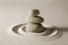 równoważenie kamienie Fotografia Stock
