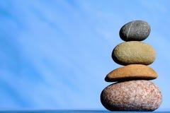 równoważenie kamienie Obrazy Royalty Free