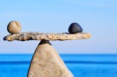 równowaga Fotografia Stock