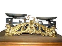 równowaga fasonujący stary szalkowy rocznik Obrazy Royalty Free
