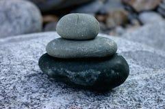 Równowaga kamienie Zdjęcia Stock