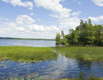 Równy Monrepo, zatoka Finlandia Obraz Royalty Free
