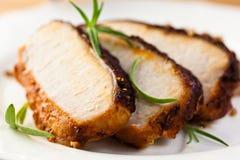 Rôti de porc Photo libre de droits